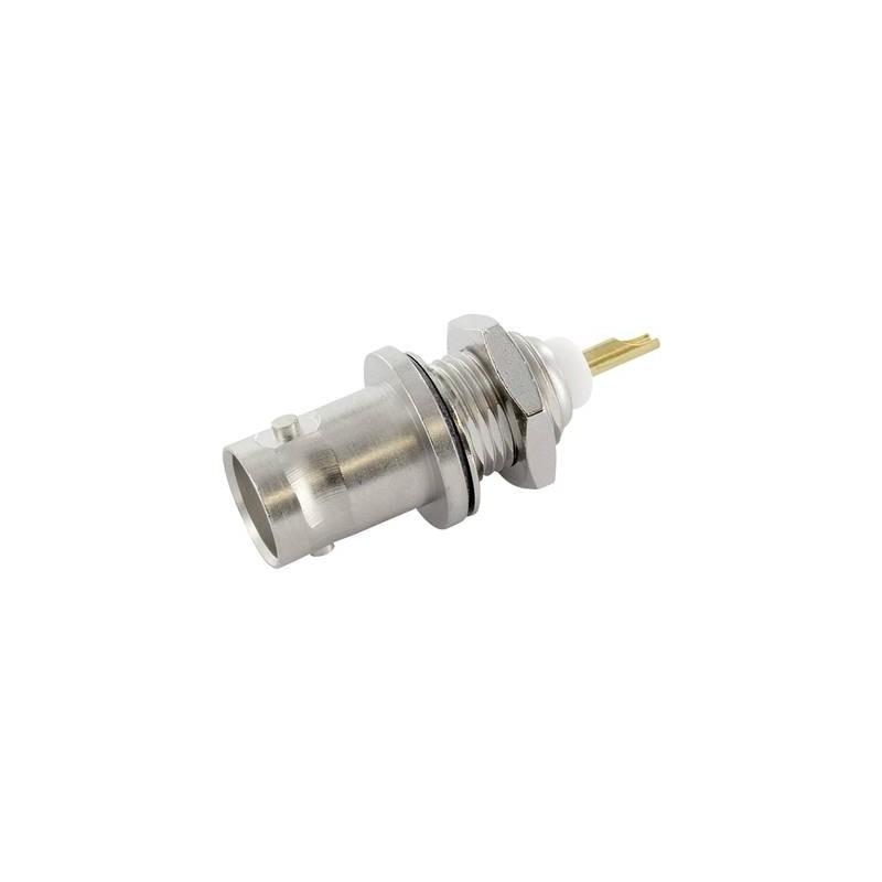 Connettore BNC Presa verticale 50 Ω Telegärtner J01001A0614 1 pz.