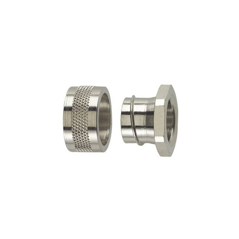 Chiusura finale Metallo 6.80 mm Piatto HellermannTyton 166-30510 SC10-PC 1 pz.