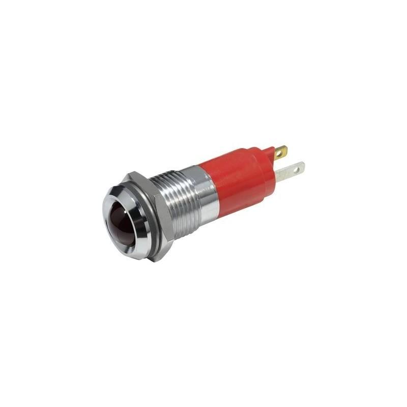 CML Luce di segnalazione a LED Rosso 230 V/AC 19350230