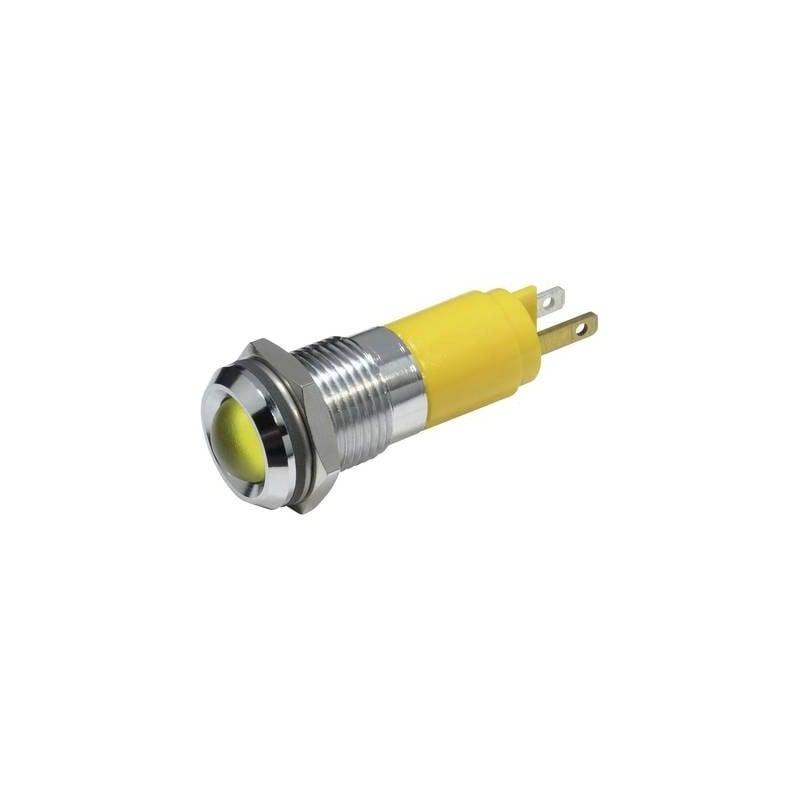 CML Luce di segnalazione a LED Giallo 230 V/AC 19350233