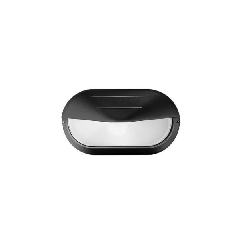 Plafoniere Nere Prisma Superdelta ovale Visa, potenza 40 watt, passo E27, Migliori Offerte Online.