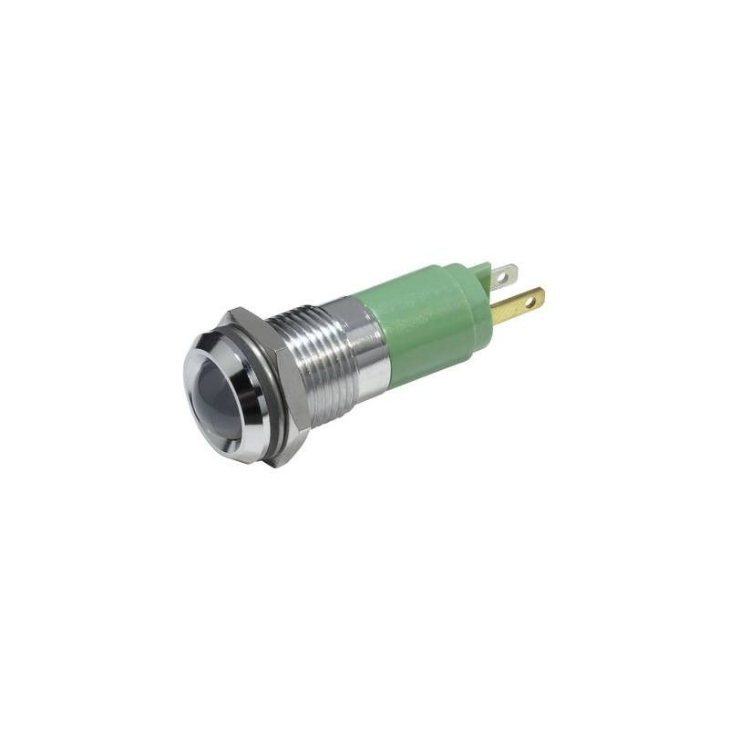 CML Luce di segnalazione a LED Verde 24 V/DC 19210351