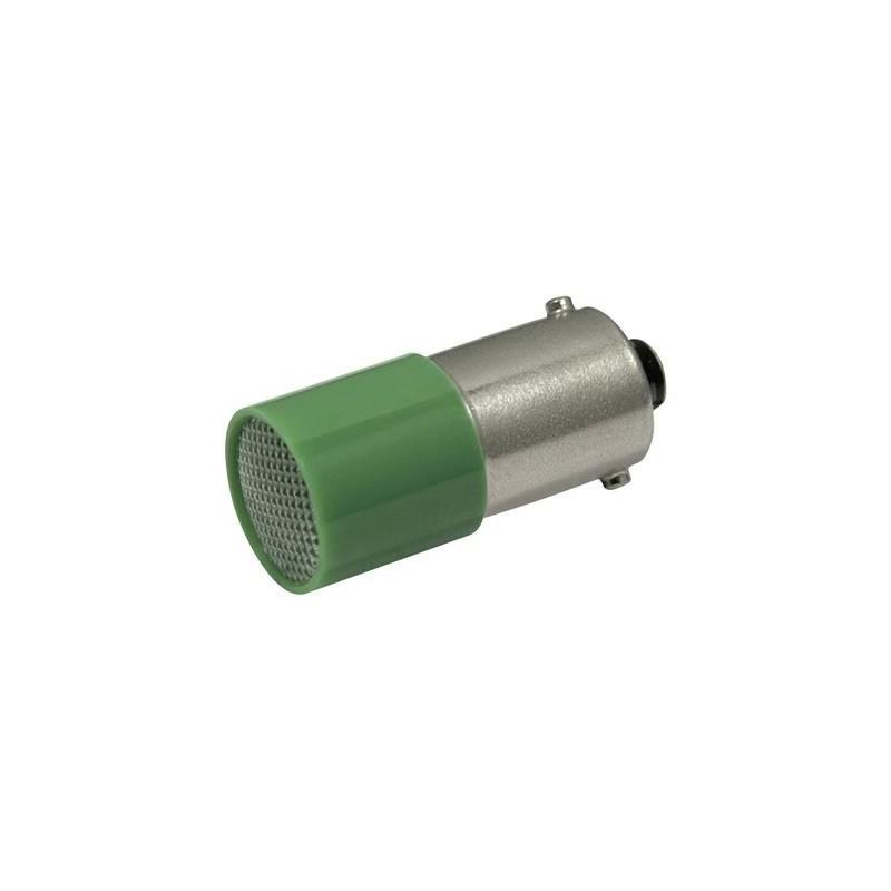CML Lampadina LED BA9s Verde 110 V/DC, 110 V/AC 1.6 lm 18824121