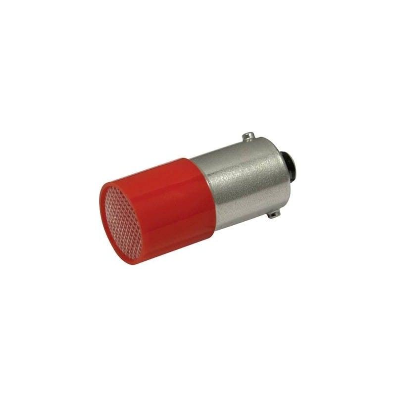 CML Lampadina LED BA9s Rosso 110 V/DC, 110 V/AC 0.4 lm 18824120