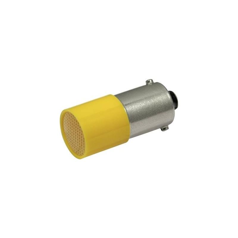 CML Lampadina LED BA9s Giallo 110 V/DC, 110 V/AC 0.4 lm 18824122