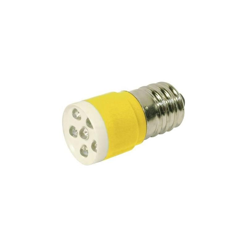 CML Lampadina LED E14 Giallo 24 V/DC, 24 V/AC 1050 mcd 18646352C