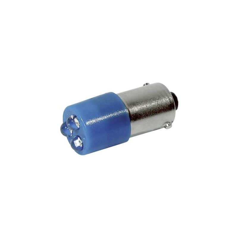 CML Lampadina LED BA9s Blu 24 V/DC, 24 V/AC 780 mcd 18620357