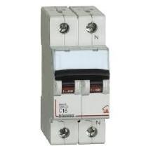Interruttore Magnetotermico 1P+N C16 4,5KA 2M BTDIN45