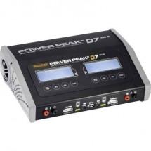 Caricabatterie multifunzione per modellismo 12 V, 220 V 20 A Power Peak D7 EQ-BID NiMH, NiCd, LiPo, LiIon, LiFePO