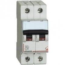 Interruttore Automatico Magnetotermico C20 2P 2M 4500A BTDIN-RS