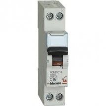 Interruttore Automatico Magnetotermico 16A 1P+N 4,5kA BTDIN-RS FC881C16