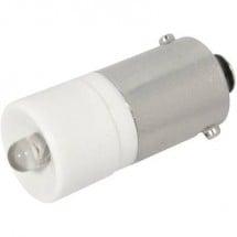 CML Lampadina LED BA9s Bianco freddo 230 V/AC 450 mcd 1860623W3