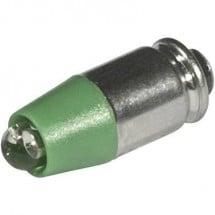 CML Lampadina LED T1 3/4 MG Verde 24 V/DC, 24 V/AC 2100 mcd 1512535UG3