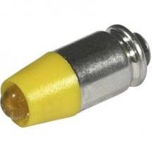 CML Lampadina LED T1 3/4 MG Giallo 24 V/DC, 24 V/AC 280 mcd 1512535UY3