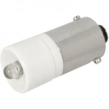 CML Lampadina LED BA9s Bianco 24 V/DC, 28 V/DC 1900 mcd 1860 03BW3