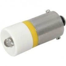 CML Lampadina LED BA9s Giallo 12 V/DC 700 mcd 1860 02B2C