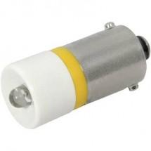 CML Lampadina LED BA9s Giallo 24 V/DC, 24 V/AC 300 mcd 18602352