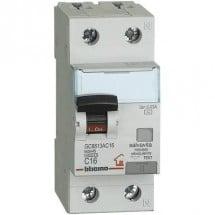 Interruttore Automatico Differenziale Modulare AC 1P+N 30MA 16A 4 BTDIN-RS
