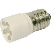 CML Lampadina LED E14 Bianco freddo 24 V/DC, 24 V/AC 1200 mcd 1864635W3D