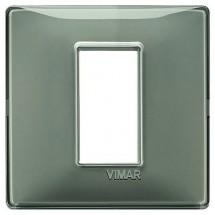 Placca Vimar Plana Cenere 14641.40 Reflex 1 Modulo Posto