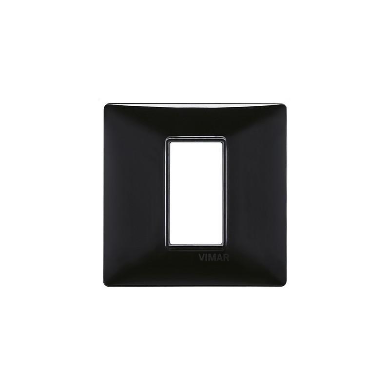 Placche Vimar Plana Nere, tecnopolimero, colore nero, migliori prezzi on line vendita e listino prezzo,1 moduli, 14641.05
