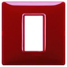 Placche Vimar Plana rosse rubino, 1 modulo posto, costruite in tecnopolimero, miglior prezzo offerta online 14641.51
