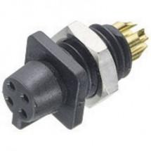 Binder 09-9766-30-04 Connettore circolare Presa a pannello Serie: 719 Tot poli: 4 1 pz.