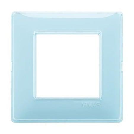 Placca Vimar Plana 2, 3, 4 Moduli Reflex Acqua