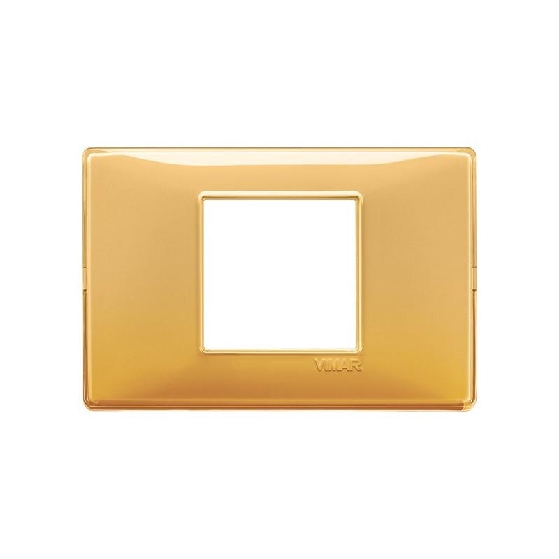 placca ambrata ambra 14652.43 reflex 3 posti moduli, vimar plana, miglior prezzo prezzi on line vendita catalogo colori