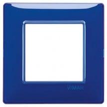 Placca Vimar Plana Zaffiro Reflex 2, 3, 4 Posti Tecnopolimero
