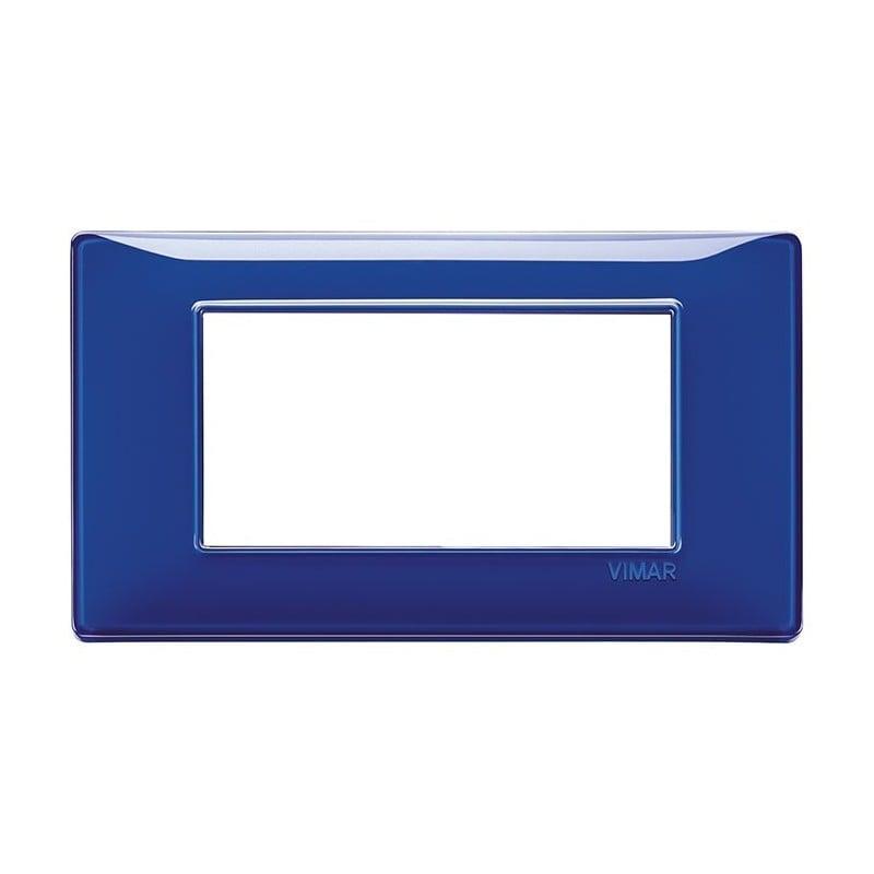 catalogo di placche vimar plana, colori zaffiro blu, listino prezzi, codice 14654.50