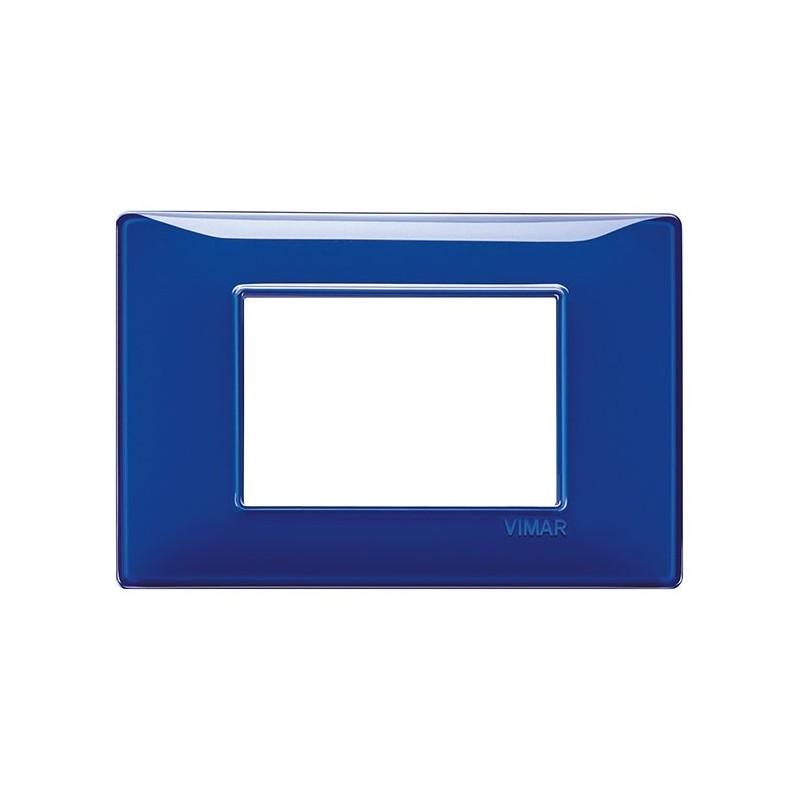 catalogo di placche vimar plana, colori zaffiro blu, listino prezzi, codice 14653.50