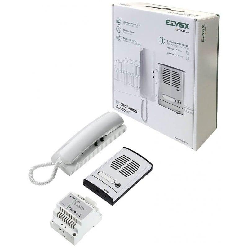 Schema Collegamento Elvox 131 : Elvox citofono da parete sound system bianco
