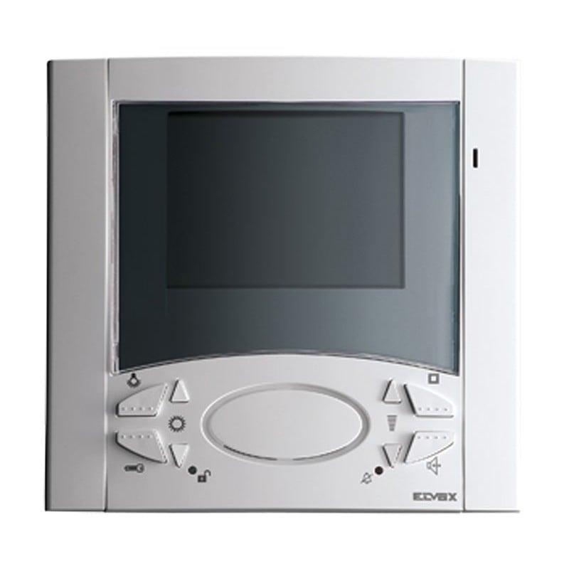 Elvox 6620 video citofono con telecamera monitor vivavoce, incasso, a colori serie 6000