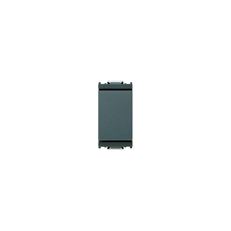 Deviatore Vimar Idea 16 AX 250 V~, 1 posto modulo, Grigio.