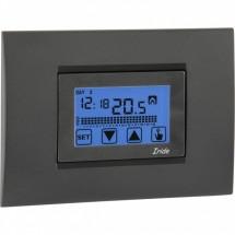 Cronotermostato Touch Screen Incasso Settimanale a Batterie