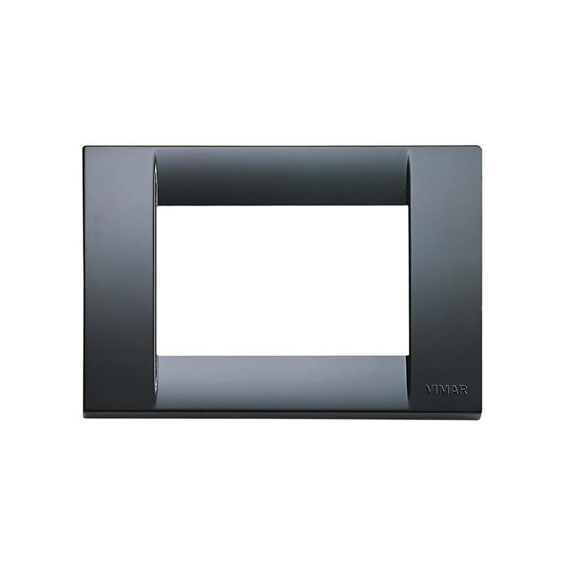 Placche Vimar Idea Classic a 3 moduli posti, costruita in tecnopolimero, codice 16743.15 grigio grafite miglior prezzo.