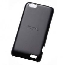 Htc, Cover In Plastica Nera Per Htc One V