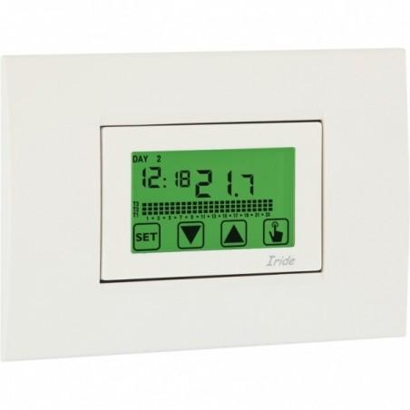 Cronotermostato Touch Screen Incasso Settimanale Vemer VE457800