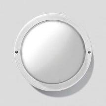 Plafoniera Prisma Eko 21 E27 750 Bianco IK06 Fluorescenti Ip44 300454 1x15w