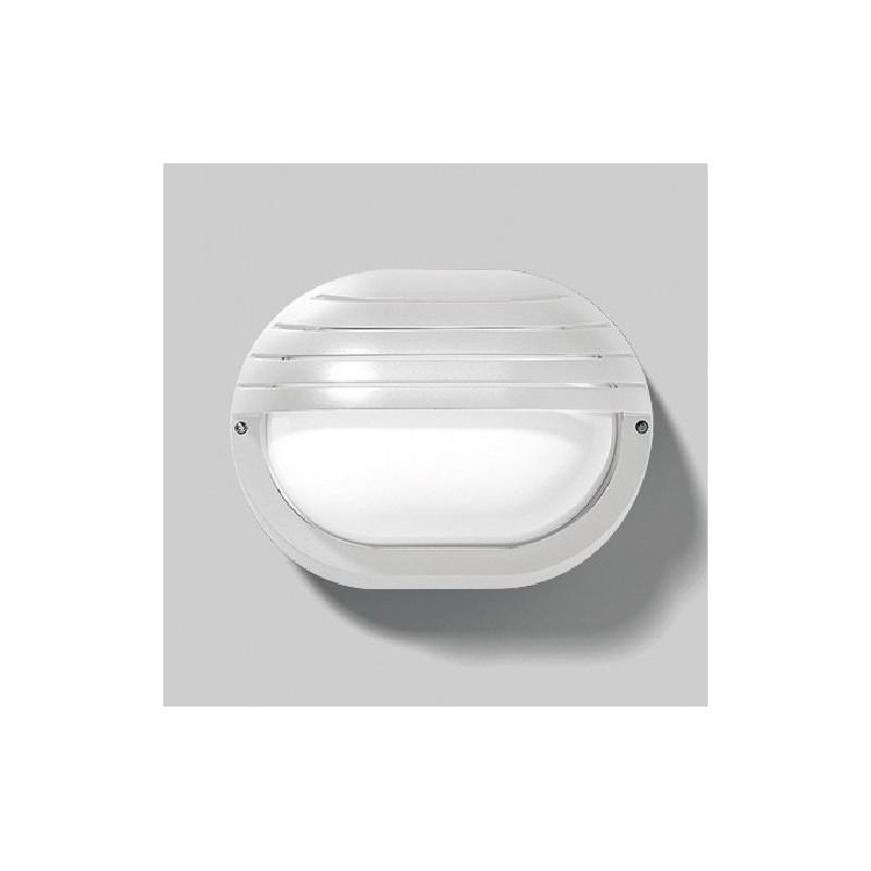 Plafoniera da parete e soffitto, Protezione IP44 A, colore bianco, passo e27, potenza 15 watt, miglior prezzo online.