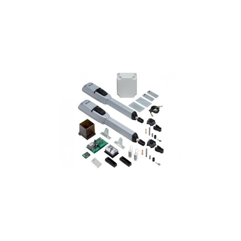 motore+scatola di controllo apricancello bianta,Automazione per cancelli a battente elettromeccanica,Kit per cancello battente fino a 3 mt per anta