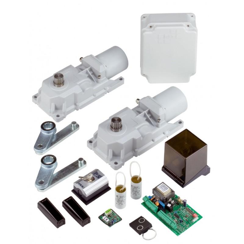 Faac kit power automazione safe per cancelli a battente for Motore cancello battente faac