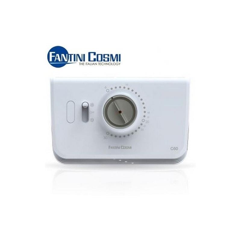 Termostato ambiente elettronico fantini cosmi c60 bianco for Termostato fantini cosmi c48 prezzo