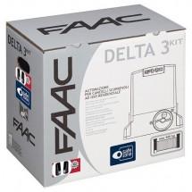 FAAC Delta 3 Kit Automazione 230v per Cancelli Scorrevoli 105630445