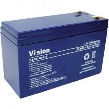 Vision Akkus LFP124.5 Batteria ricaricabile speciale Blocco LiFePo Faston LiFePO 4 12.8 V 4500 mAh