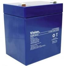 Vision Akkus LFP124.5T Batteria ricaricabile speciale Blocco LiFePo Faston LiFePO 4 12.8 V 4500 mAh