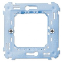 Cestello ave Armatura 1-2 moduli per scatola tonda d60 mm - con griffe laterali - componibile con interasse 71 mm