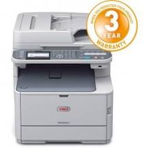 Oki Mc562Dnw Stampante Laser A Colori Multifunzione A4 Stampante, Scanner, Copiatrice, Fax Lan, Wlan, Fronte E Retro,