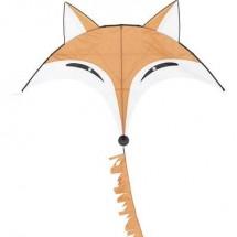 Aquilone statico Monofilo HQ Fox Kite Larghezza estensione 1450 mm Intensità forza del vento 2 - 4 bft